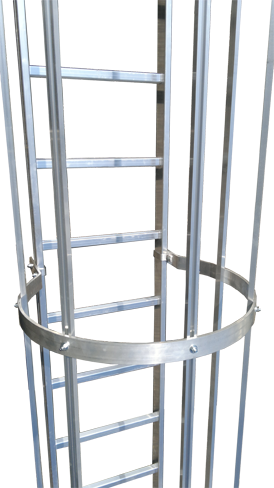 Fassadenleiter Steigleiter Ortsfesteleiter